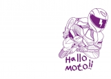 Обложка на автодокументы без уголков, Hallo Moto!!