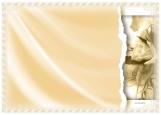 Обложка на паспорт без уголков, Сепия