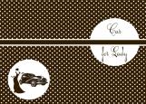 Обложка на автодокументы без уголков, Коллекция для леди (права)