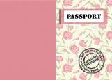 Обложка на паспорт без уголков, Паспорт идеальная женщина