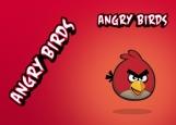 Обложка на паспорт без уголков, Angry Birds