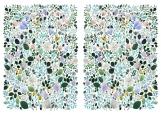 Обложка на паспорт без уголков, Flora