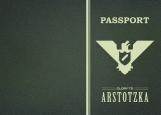 Обложка на паспорт без уголков, Papers, Please (Glory to Arstotzka)