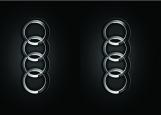 Обложка на автодокументы без уголков, Audi