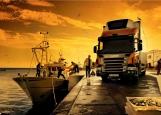 Обложка на автодокументы без уголков, Грузовик Scania