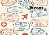 Обложка на паспорт без уголков, Путешествия 2