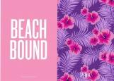 Обложка на паспорт без уголков, Beach Bond Pink