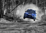 Обложка на автодокументы без уголков, Subaru Rally