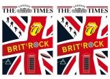 Обложка на паспорт без уголков, The London times